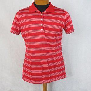 Nike Golf Tour Performance Dri Fit Red White Strip